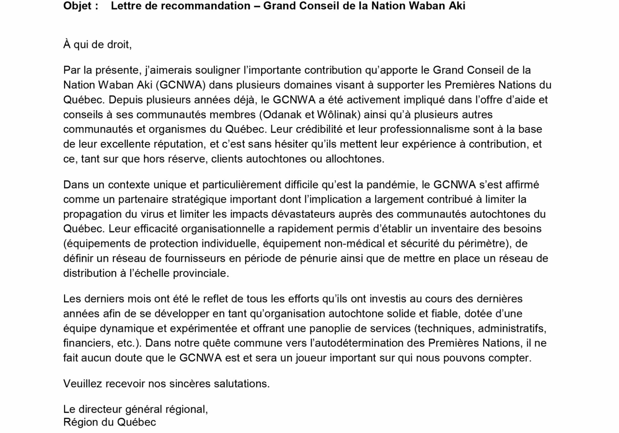 LETTRE-RECOMMANDATION-WABAN-AKI-MARS-2021